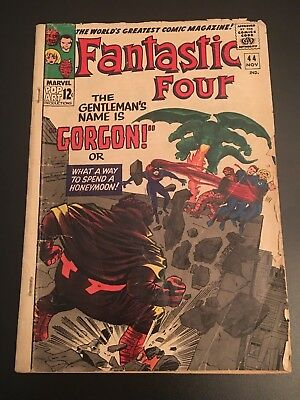 Fantastic Four # 44  vol 1 Marvel First appearance of Gorgon Gorgon Petragon
