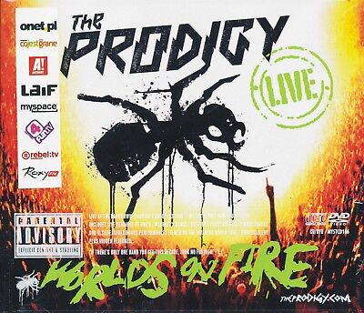 The Prodigy ‎- Live - World's On Fire CD+ DVD [NEW] POLISH EDITION