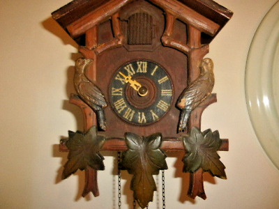 Vintage Cuckoo Clock.Black Forest Spares.Or Restoration