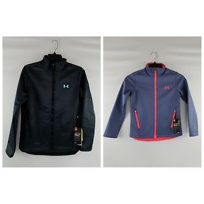 Under Armour Girl S Youth Ua Coldgear Infrared Softershell Jacket