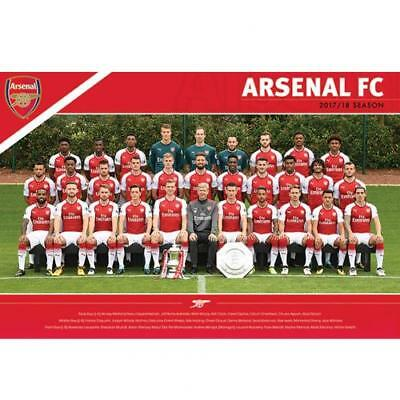 Arsenal FC Poster Squad 35 Football Club Player Supporter Birthday PRESENT GIFT