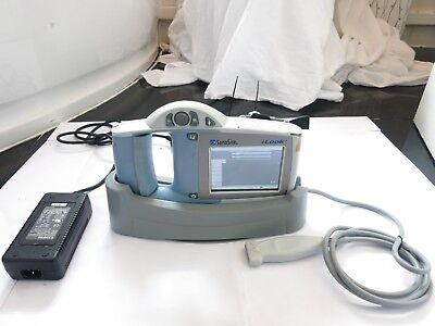 SONOSITE iLOOK 25 PORTABLE ULTRASOUND SYSTEM IMAGING DOPPLER SCANNER L25 PROBE