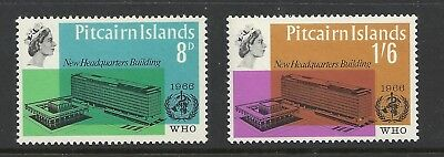 Pitcairn Island 1966 World Health Org Issue MNH