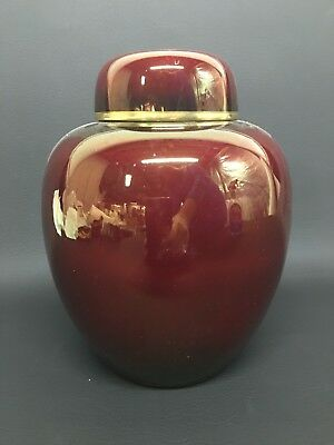 Carlton Ware Rouge Royale Ginger Jar