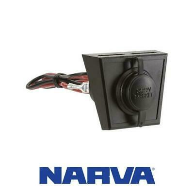 Narva Accessory Socket With Optional Mounting Panel 81028BL #235