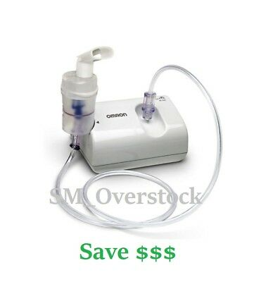 Omron CompAir Nebulizer System includes carrying case