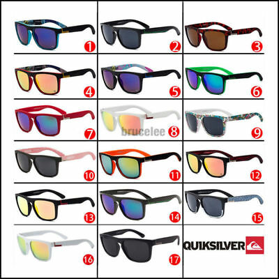 Stylish Men Women Outdoor Casual Sports Sunglasses UV400 2018 With Box 17 Colors