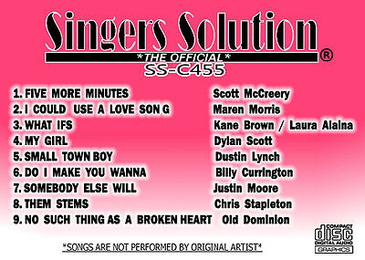 SINGER SOLUTION COUNTRY-444 9 SONGS HEARTBEAT-SUGAR-DIBS