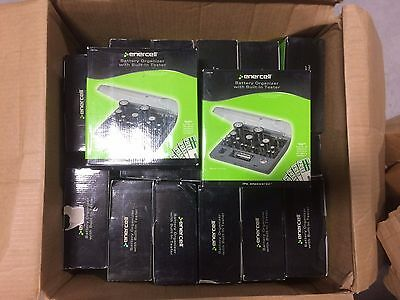 Enercell Battery Organizer With Built-In tester #2301766