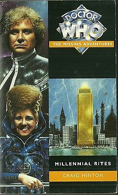 OOP  Paperback Book - DOCTOR WHO - Millennial Rites - Craig Hinton - Virgin 1995