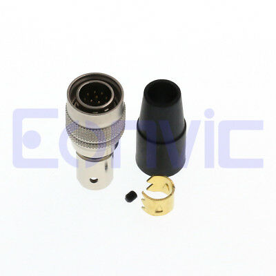 5pcs/lot 12 pin male solder Hirose HR10A-10P-12P connector for camera