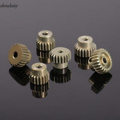 New 48DP Pinion Motor Gear Combo Set for 1/10 RC Car Brushed Brushless S5DY