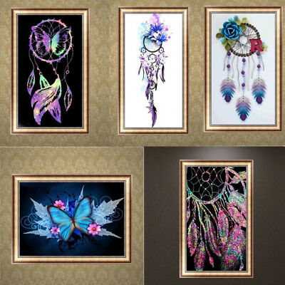 AU Style 5D DIY Diamond Embroidery Painting Cross Stitch Kit Craft Home Decor