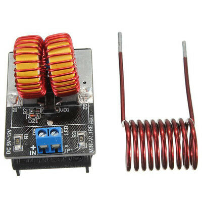ZVS Induction Heating Power Supply Module & Heating Coil 120W 5V-12V Durable