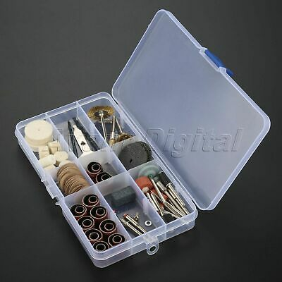 Rotary Tool Accessories Kit Variable Speed Grinder Piece Shaft Polisher 93Pcs
