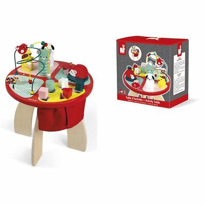 Damaged Packaging Baby Forest Childrens Wood Educational Activity Table by Janod
