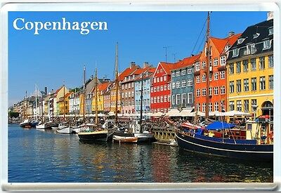 Copenhagen Fridge Magnet 1
