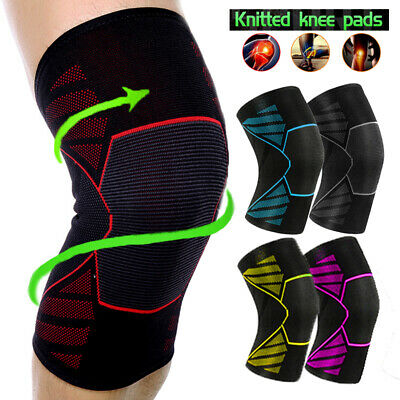Compression Knee Sleeve Leg Brace Meniscus Tear Patella Arthritis Pain Relief OB