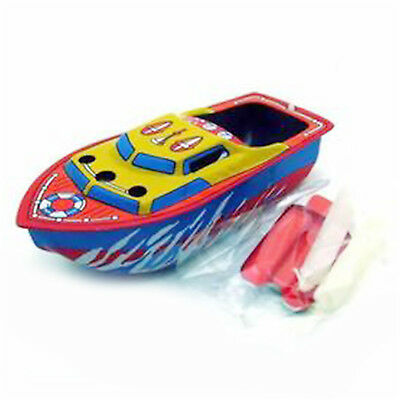 Vintage Steam Boat Pop Pop Candles Powered Put Put Ship Collectable Tin Toy  HIG