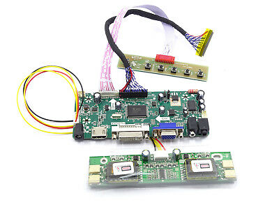 VGA DVI Audio LCD Controller Driver Board Kit For LQ164D1LD4A HDMI