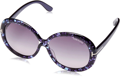 8a2bfbfe594c4 Authentic TOM FORD Gisella 388 - 83W Sunglasses Violet  Gradient Blue  NEW   58mm