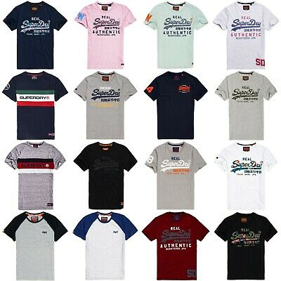 Superdry T-Shirts - Superdry Classic Graphic Tees - Premium Goods, Vintage Logo