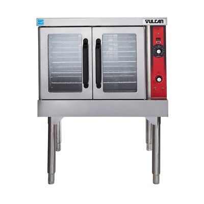 Vulcan VC44GD-1/CASTERS Natural Gas Double Deck Convection Oven