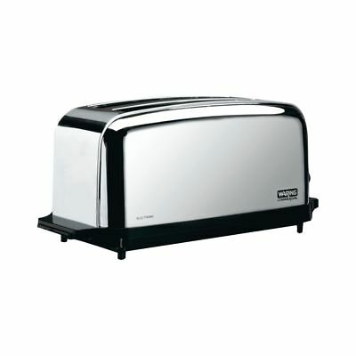 Waring Commercial WCT704 Light-Duty 4-Slice 2-Slot Toaster