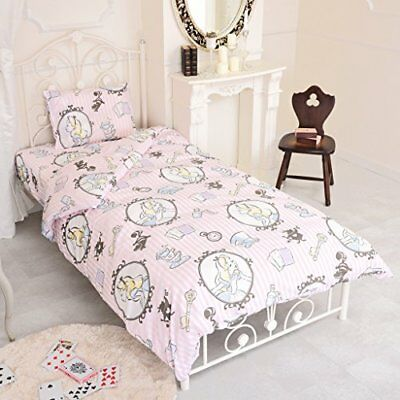 Disney Alice in Wonderland bed cover three-piece set For a single bed PINK JP