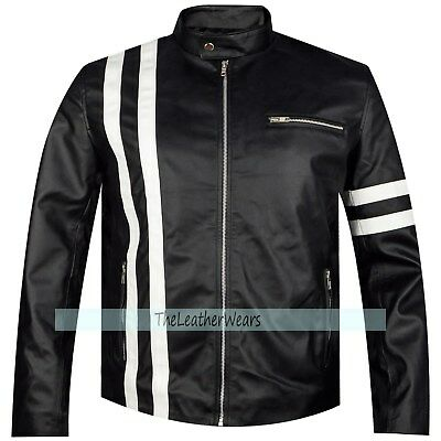 Vin Diesel The Fate Of The Furious Dominic Toretto Leather Jacket, XXS - 3XL