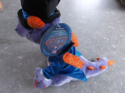Disney Epcot 25Th Anniversary Figment Dreamfinder Limited Edition Plush With Tag