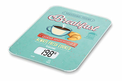 Beurer Ks 19 Kitchen Scales With Pattern, Breakfast