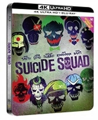 Suicide Squad - Extended Cut (4K Ultra HD + Blu-Ray Disc - Steelbook)