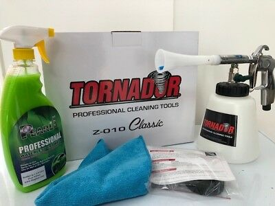 Tornador Classic Professional Cleaning Tool Z-010 with Waterless Wash Combo
