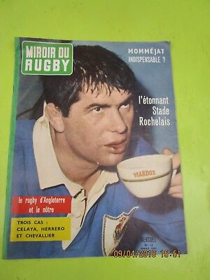 Magazine miroir du rugby france galles avril 1965 boniface for Stade du miroir