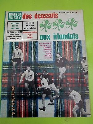 Magazine miroir du rugby france angleterre gachassin dauga for Miroir optique achat