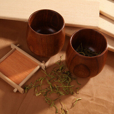 Handmade Tea Japanese Wooden Cups Tray Ceremony Lacquer Box Set Wood Teacup