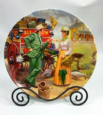 Vintage Knowles China Oklahoma! Series Plate I Cain't Say No # 8196B