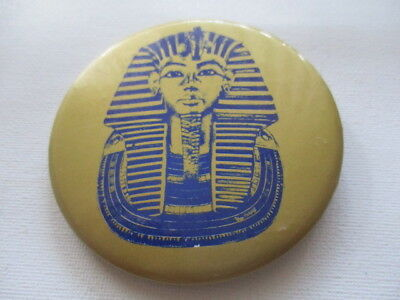 1979 Thomas Hoving Literary Lunch & Tutankhamun (King Tut) Exhibition Pin Back