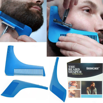 Pettine Squadra da Barba Regola Barba The Beard Shaper Bro Spazzola Rasatura Top