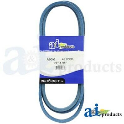 "A93K A-Section Made With Kevlar  (Blue) V Belt - 1/2"" X 95"""