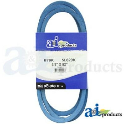 "V BELT 5//8/"" X 59/"" BLUE B56K B-SECTION MADE WITH KEVLAR"