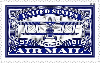 5281 Centennial US Air Mail Blue Postage Single Mint/nh