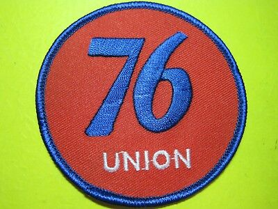 Union 76 Uniform Cloth Patch Small Crest 3 Inch Circle Look And Buy! Best Around