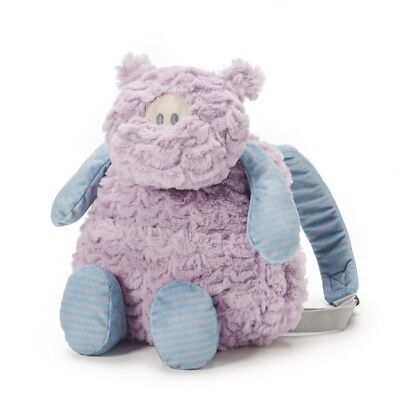 Backpack Pals Demdaco Harlow Hippo Backpack Nat & Jules Comfort of Plush