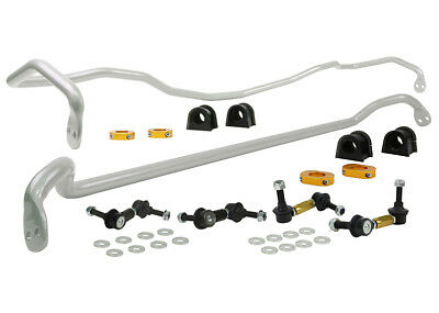 Whiteline Front & Rear Anti Roll Bar Kit for Subaru Outback (BP) Petrol Turbo