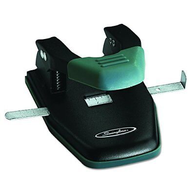 Swingline Comfort Handle 2-Hole Punch 1/4In Hole Size,28 Sheets Medium-(25-99)
