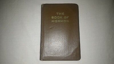 WW2 WWII Canadian US American Book of Mormon 1943