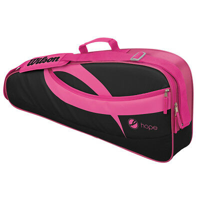 Wilson Hope 3 Racquet Tennis Bag Pink/Black
