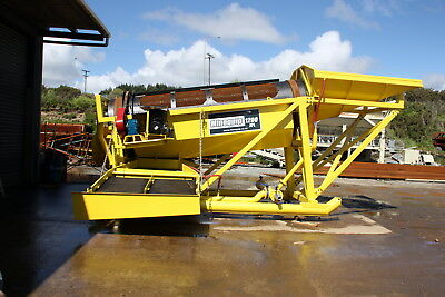 Minequip 1200 Mobile Placer Gold Wash Plant